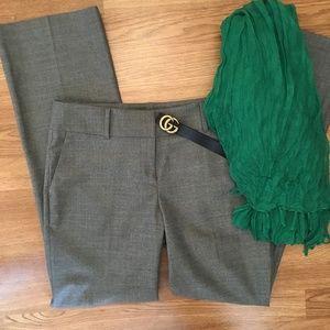Ann Taylor Heather Gray Trouser Pants